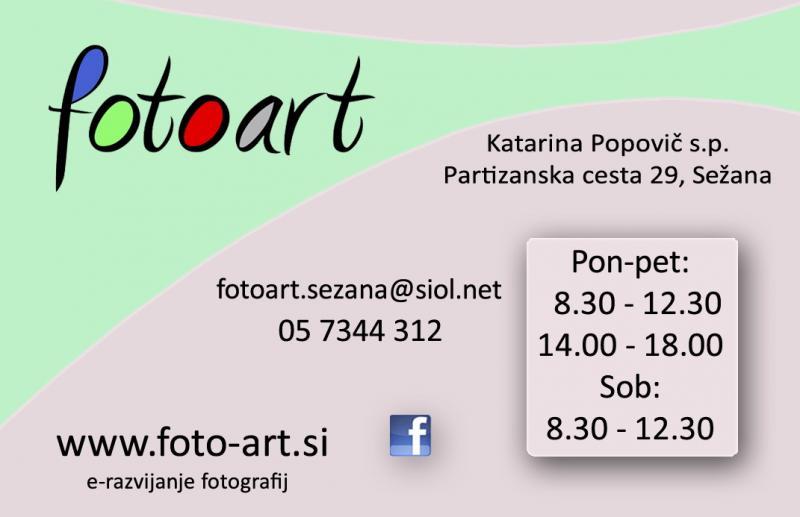 FOTO ART, SEŽANA
