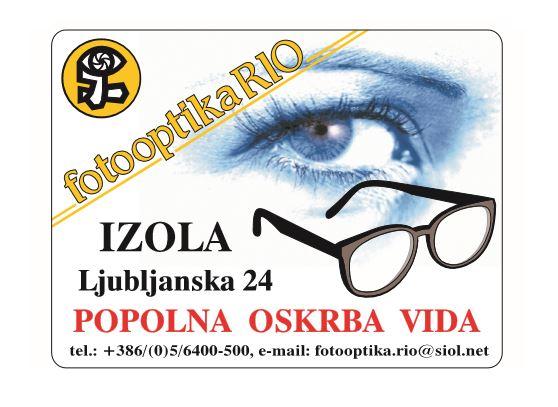 FOTOOPTIKA RIO, BARBARA LUŠIČ KNEZ S.P.