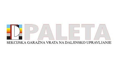PALETA, SEKCIJSKA DVIŽNA AVTOMATSKA VRATA, VIPAVA