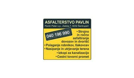ASFALTERSTVO PAVLIN, ŠENTRUPERT